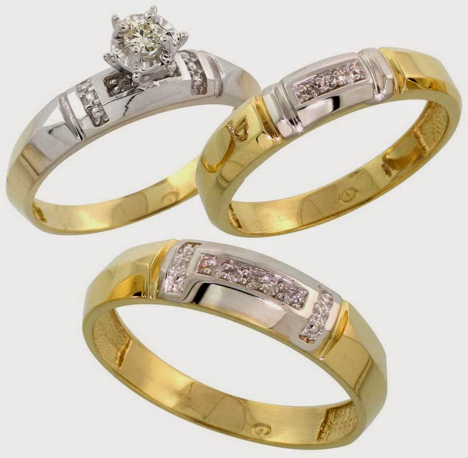 Trio Wedding Ring Sets Jared - Jewelry Ideas