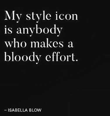 quotation from Isabella Blow