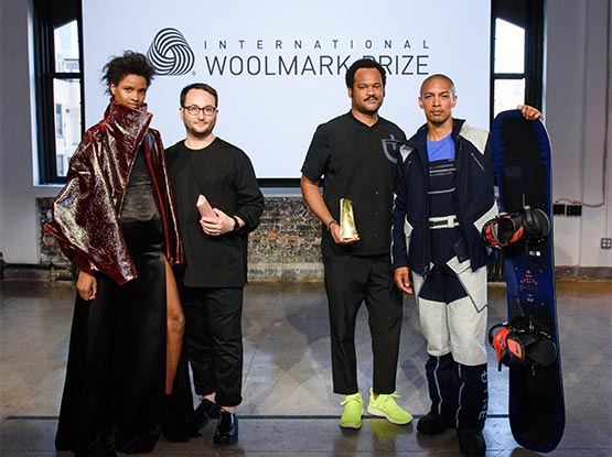 Winners announced for the 2017/18 International Woolmark Prize