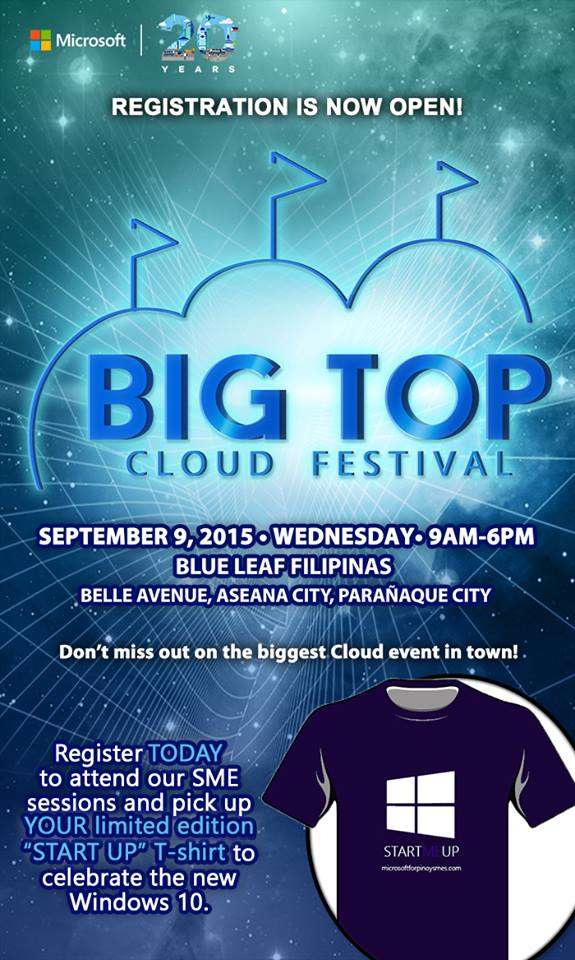 Microsoft Philippines Big Top Cloud Festival