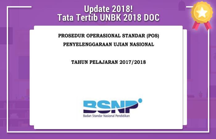 Tata Tertib UNBK 2018 DOC