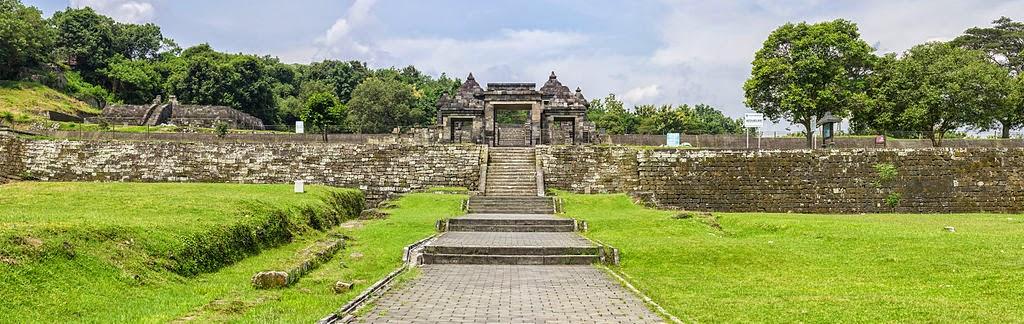 Candi Boko - Candi Ratu Boko - Istana Ratu Boko - Gerbang Utama