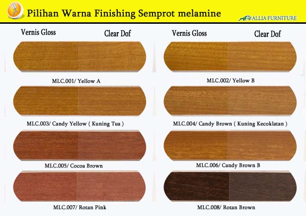 Warna Finishing Furniture Semprot Melamine 1