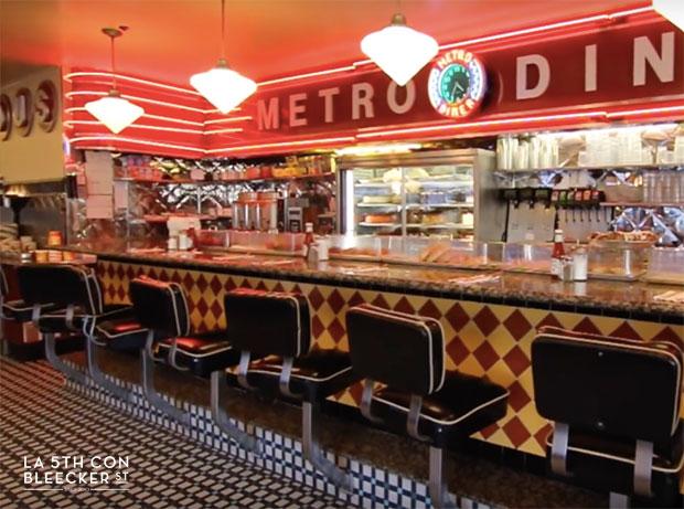 restaurantes diners en Nueva York metro diner