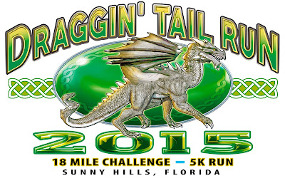 21st annual Draggin' Tail 18-Mile Challenge, 21 November 2015