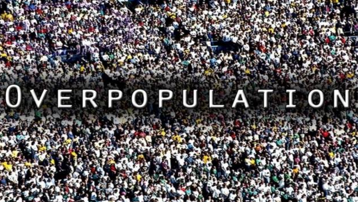 Overpopulation Slogans Overpopulation of Camb...