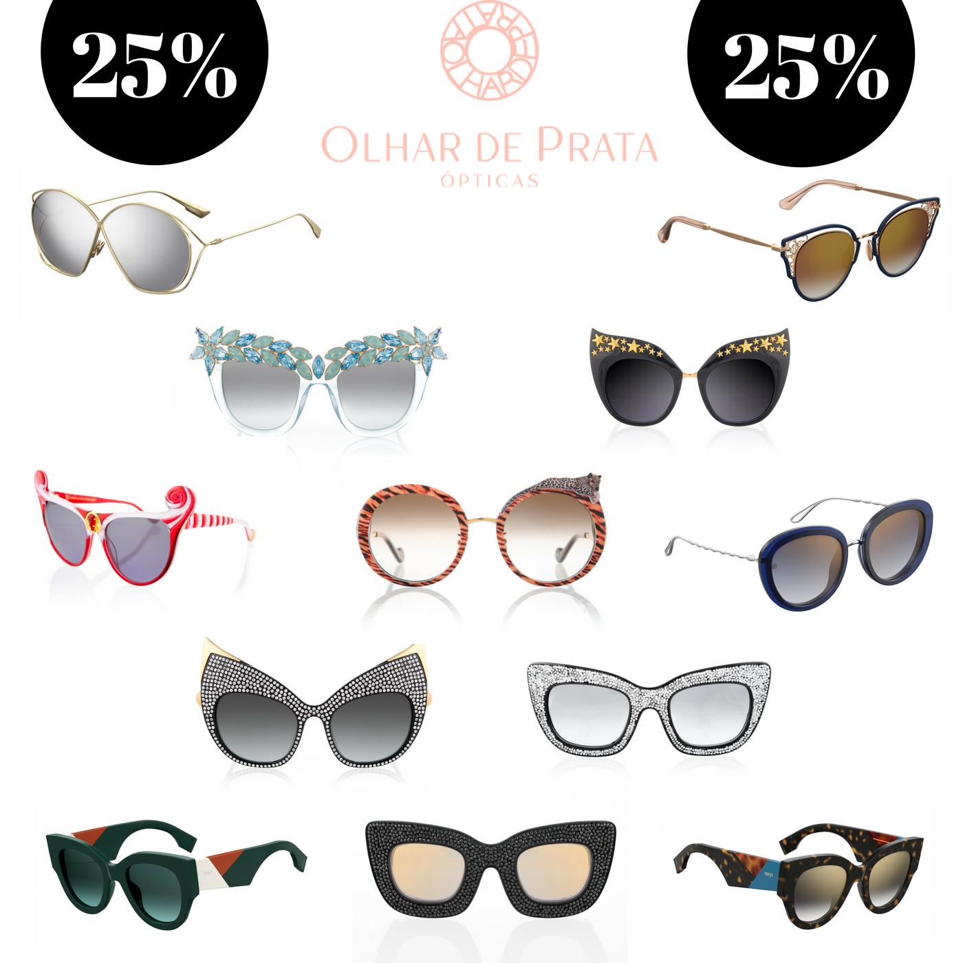 ffedf796216f3 A Olhar de Prata (que acaba de abrir mais uma loja lindaaaaa, agora na  Avenida da Liberdade) vai estar com 25% de desconto em TODAS as marcas de  óculos de ...