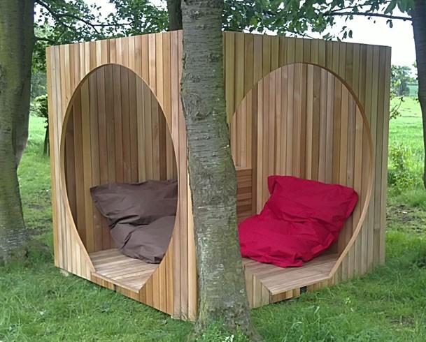 Natural Modern Interiors Garden Pods Hanging Playrooms