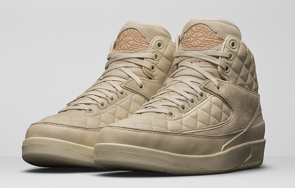 the best attitude c3a22 4566f Just Don x Air Jordan 2 Retro Don C Beach Metallic Gold-University Red  Release Reminder