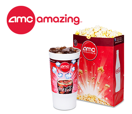 7 Off AMC Theater Movie Ticket Experience Concession Popcorn Soda Deal Valid Through 5 30