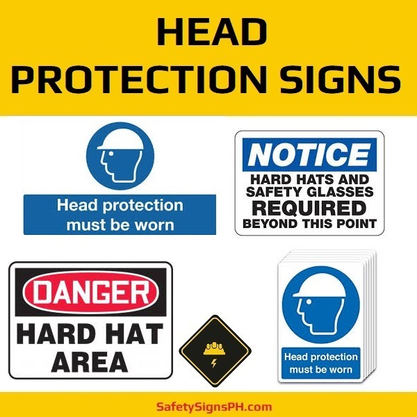Head Protection Signs Philippines