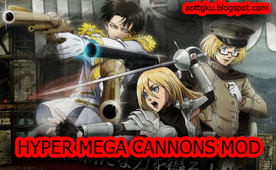 Download Hyper Mega Cannons 2 AOTTG - Attack On Titan Tribute Game Machines Gun 2