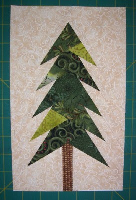 Quilting On Main Street Paper Piecing Misty Pine