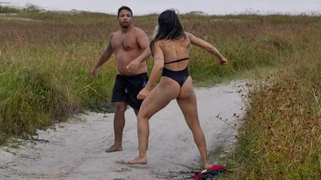 Lutadora de MMA coloca tarado para correr na Praia do Forte, em Cabo Frio