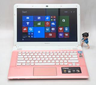 Laptop Bekas Sony Vaio SVE13132CVP