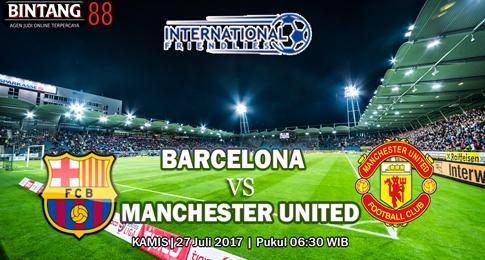 PREDIKSI SKOR  Barcelona vs Manchester United   27 JULI 2017