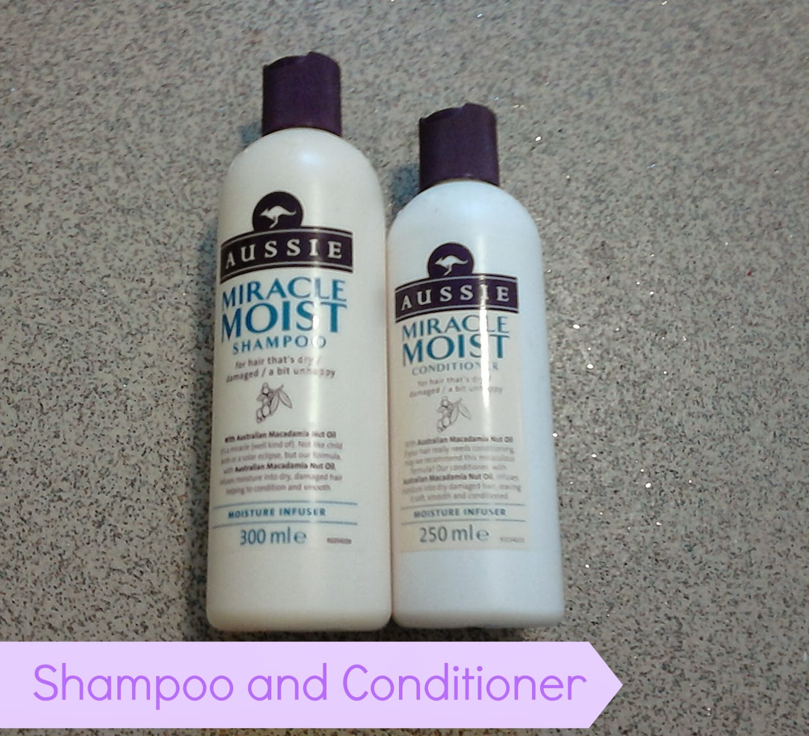 Aussie Miracle Moist Shampoo and Conditioner