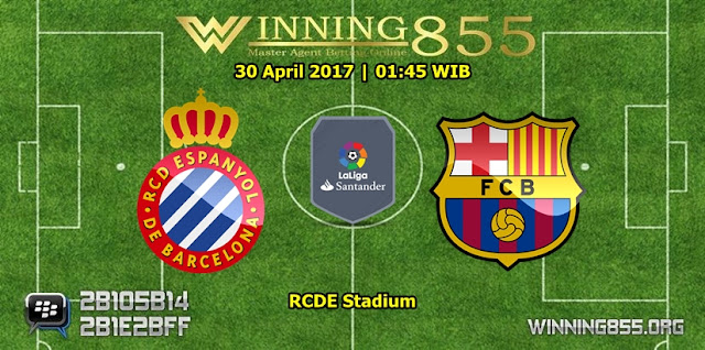 Prediksi Skor Espanyol vs Barcelona 30 April 2017