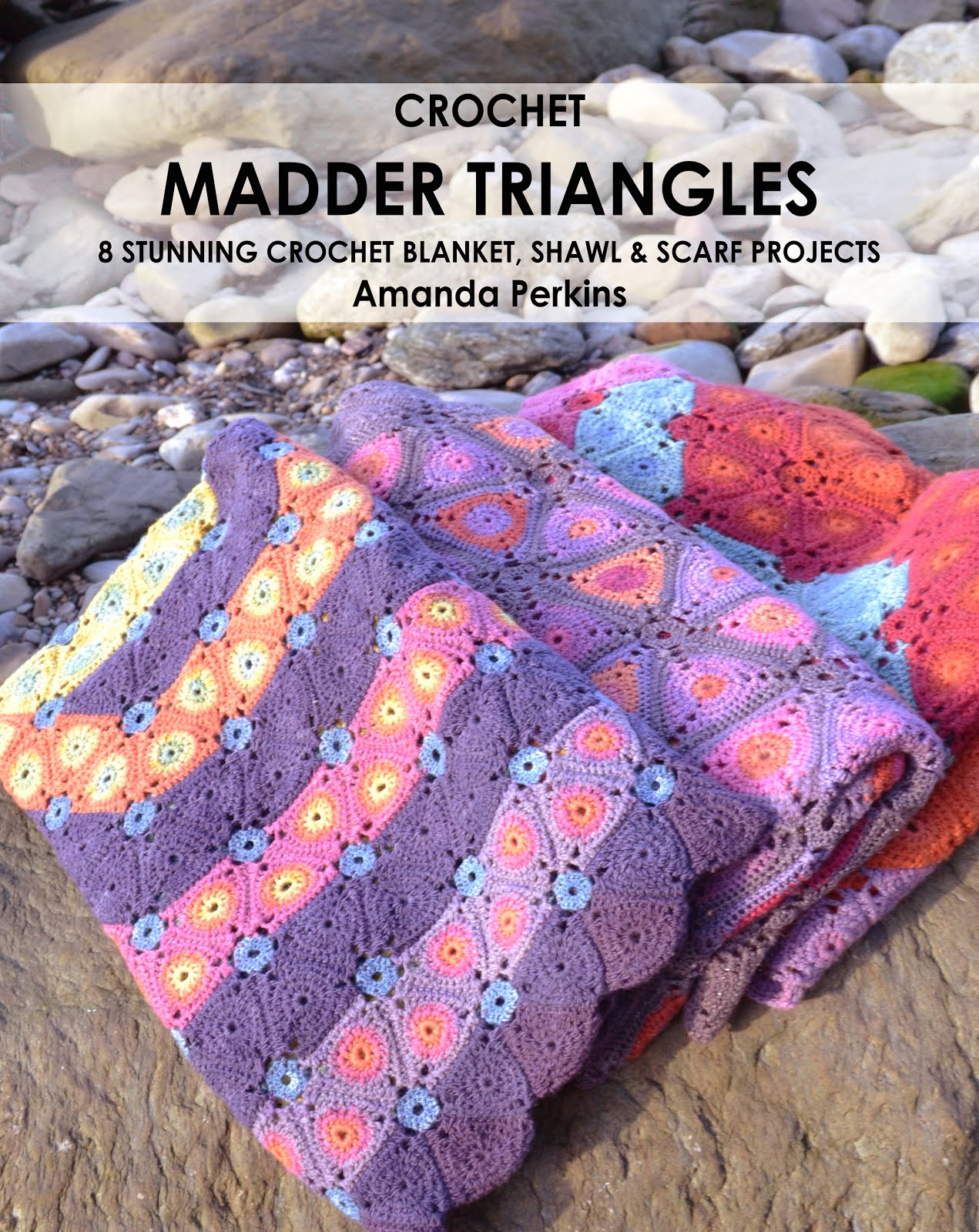 Crochet Madder Triangles Book