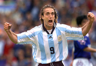 Gabriel Batistuta Still Angry That Messi Broke His Goal Scoring Record