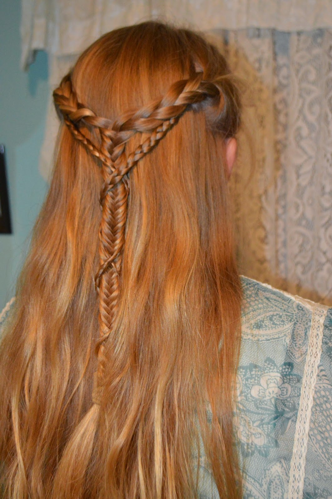 Whatsoever Things Are Lovely Medieval Braid Wrapped Braid
