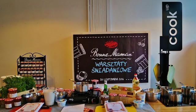 warsztaty śniadaniowe z Bonne Maman