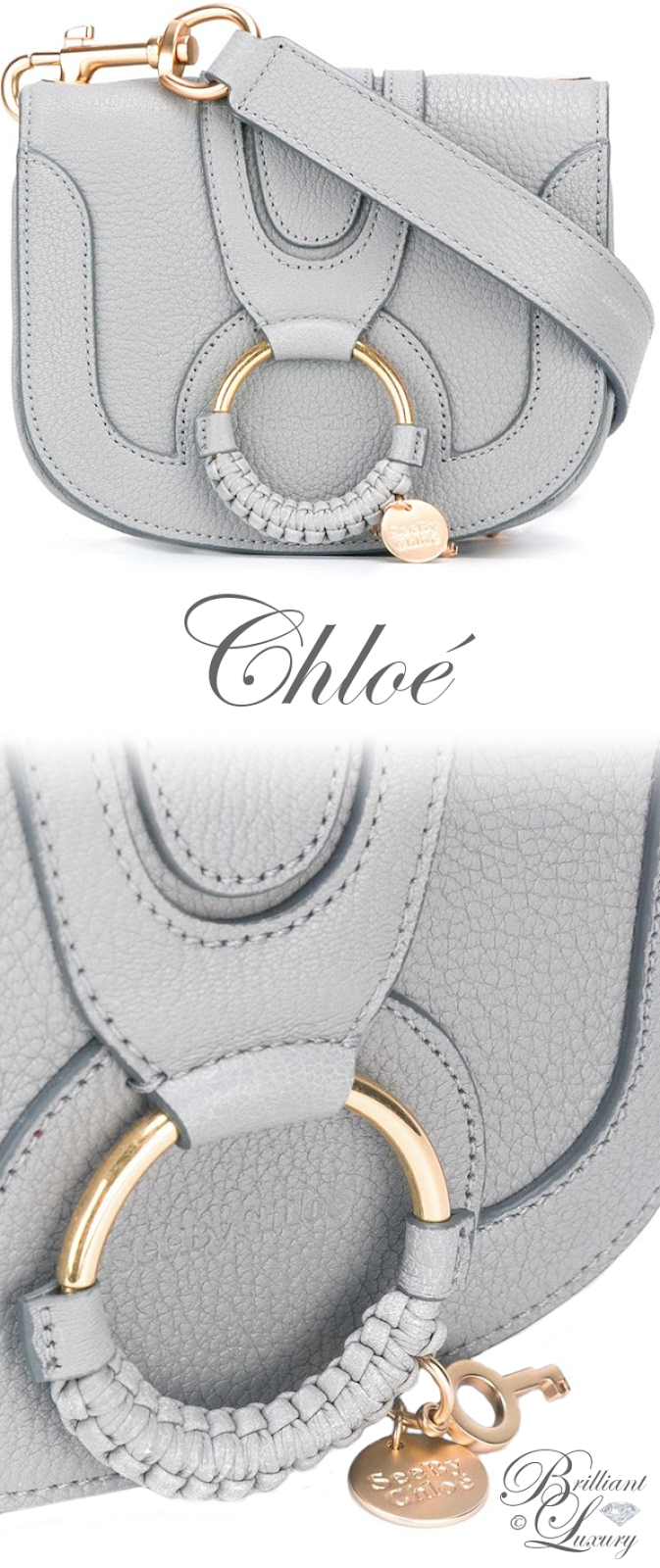 Brilliant Luxury ♦ Chloé Hana Crossbody Bag
