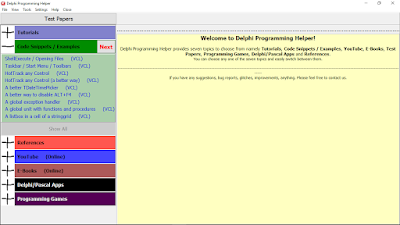 Version 4.0.0 (Delphi Programming Helper)