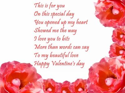 Happy Valentines Day 2017 Poems in pics