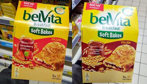 Ciastka - Soft Bakes, BelVita
