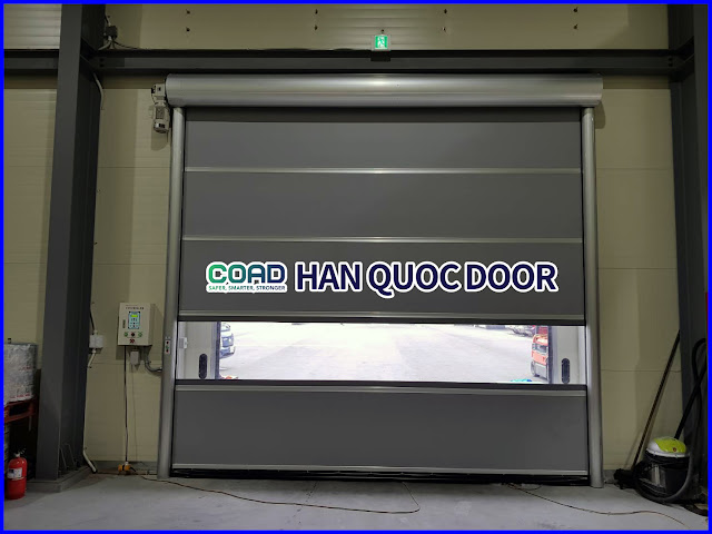 Cửa cuốn công nghiệp, cửa màn nhựa pvc, cửa đóng mở nhanh, cửa cuốn tốc độ cao, COAD