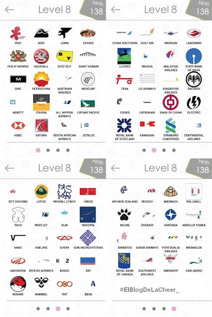 Respuesta de logo quiz nivel 8 - Imagui