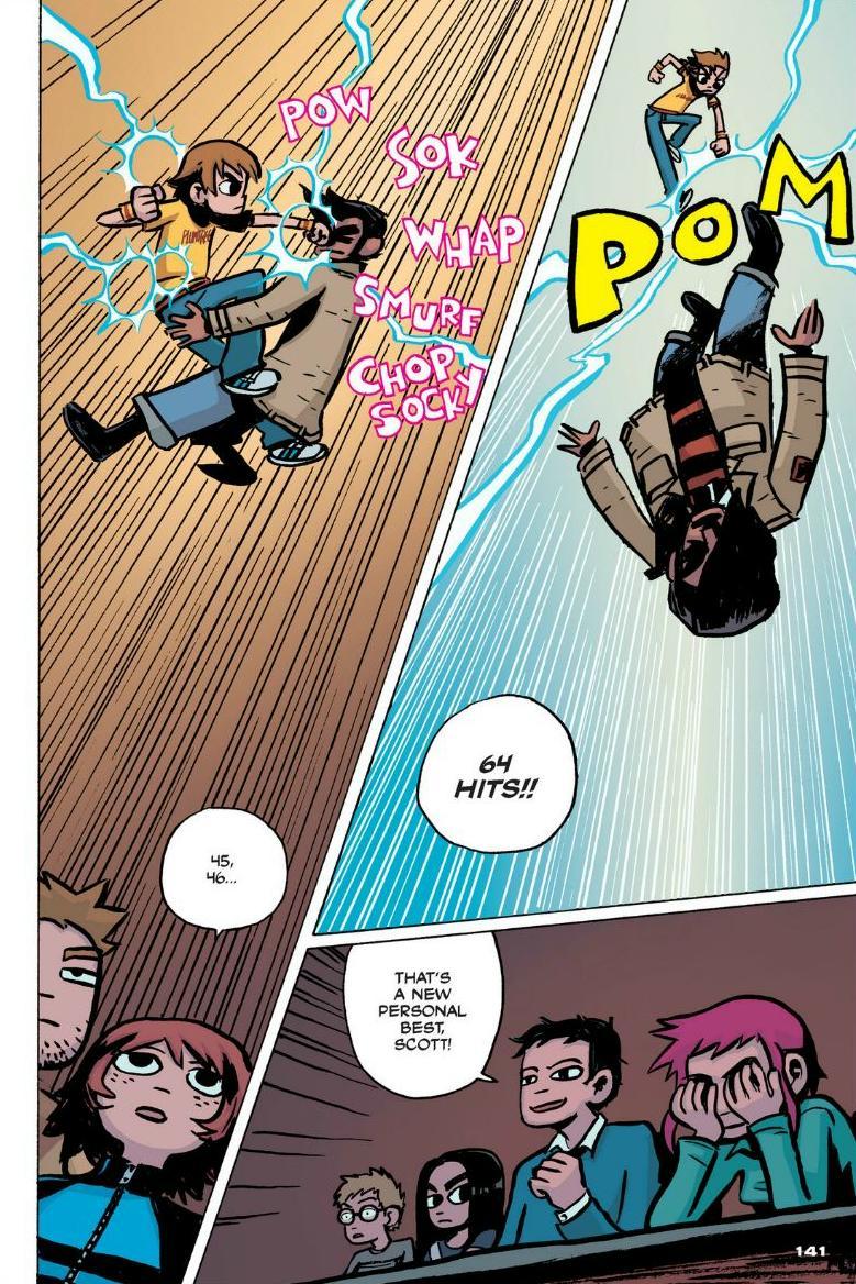 Read online Scott Pilgrim comic -  Issue #1 - 128