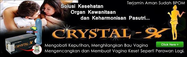 Crystal X Untuk Merawat Organ Intim Wanita