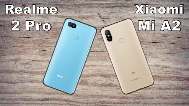 Realme 2 Pro Vs Xiaomi Mi A2, Realme 2 Pro, Xiaomi Mi A2, Mi A2, smartphone, Comparison, full reviews, mobile, smartphones, mi a2, review, reviews, latest mobile, Realme 2, Xiaomi, Realme ,