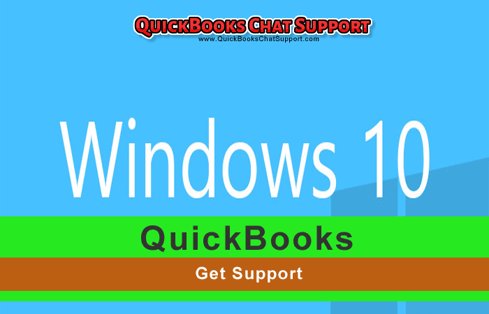 QuickBooks Windows 10 Support