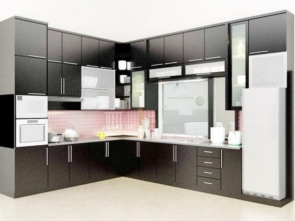 Jual Kitchen Set Gresik Kitchen Set Aluminium Gresik Jual Kitchen