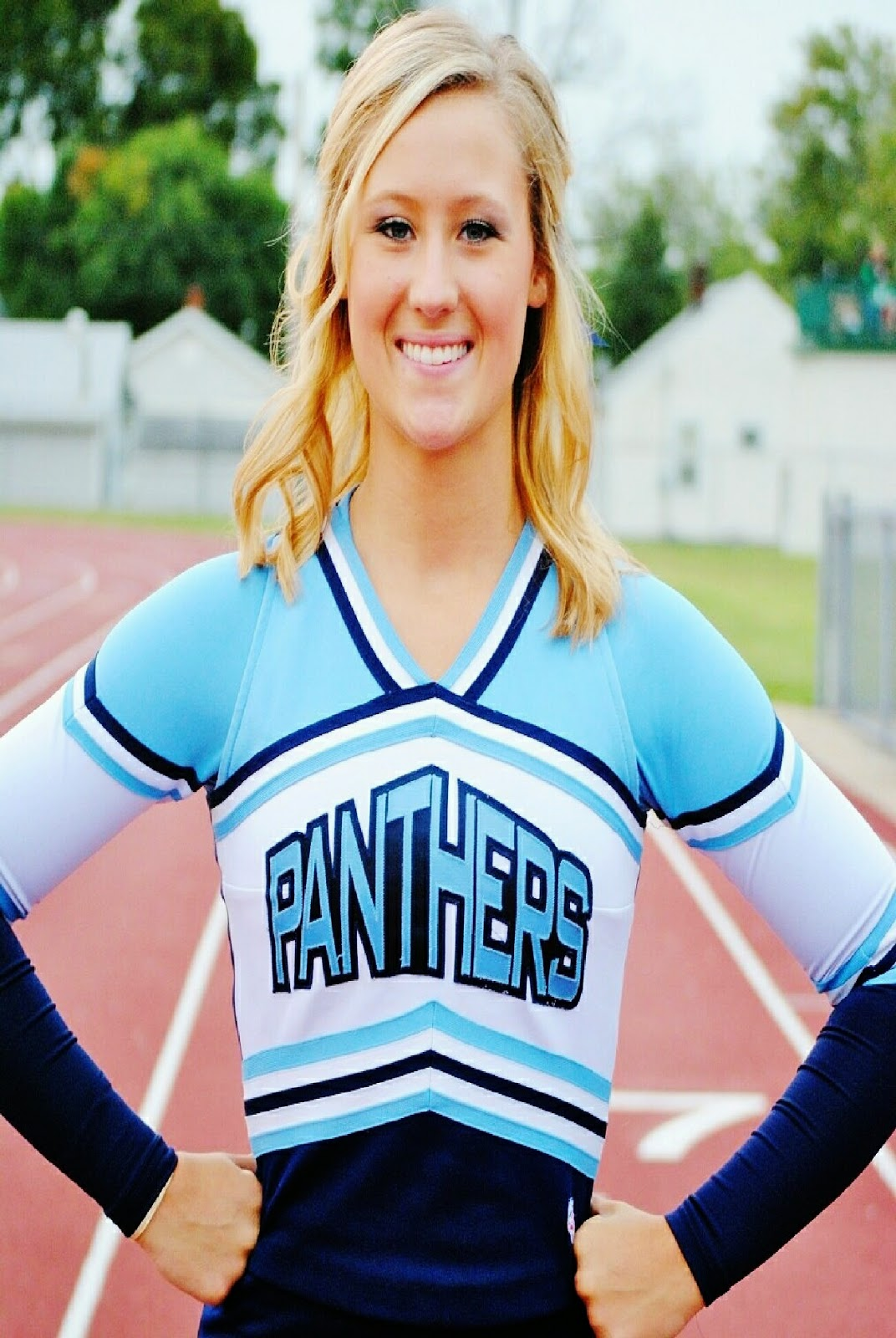 home of the jersey panthers cheerleaders blue crew mascot