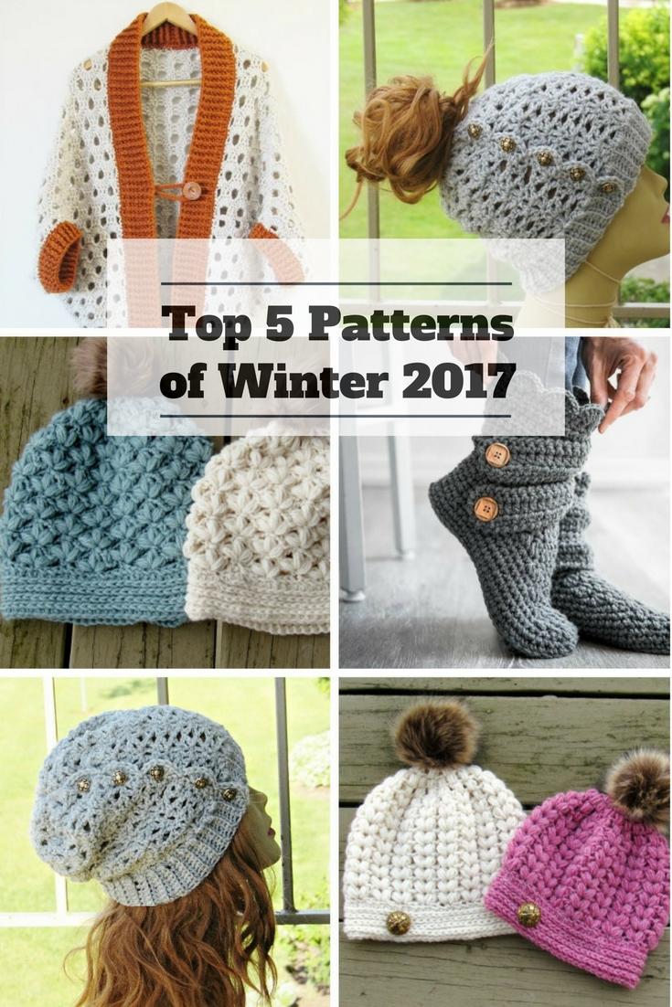 Top 5 Crochet Patterns of Winter 2017 - Crochet Dreamz