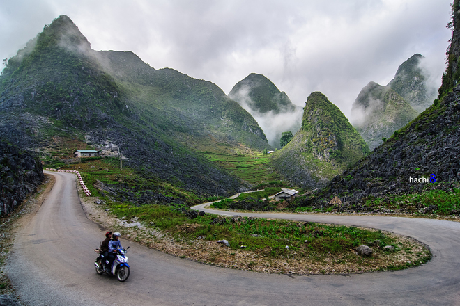 Ma Pi Leng Pass on the Hightway No.4C from Dong Van to Meo Vạc