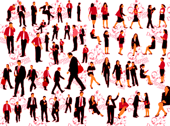 Vector Business People by parka