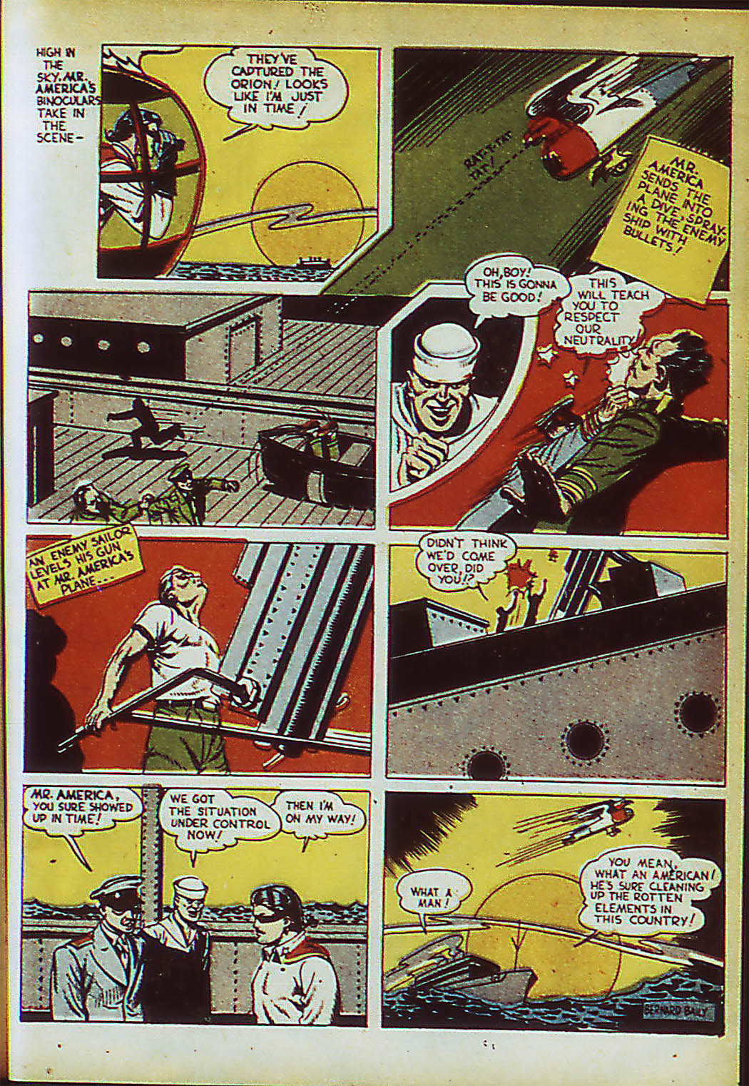 Read online Action Comics (1938) comic -  Issue #41 - 46