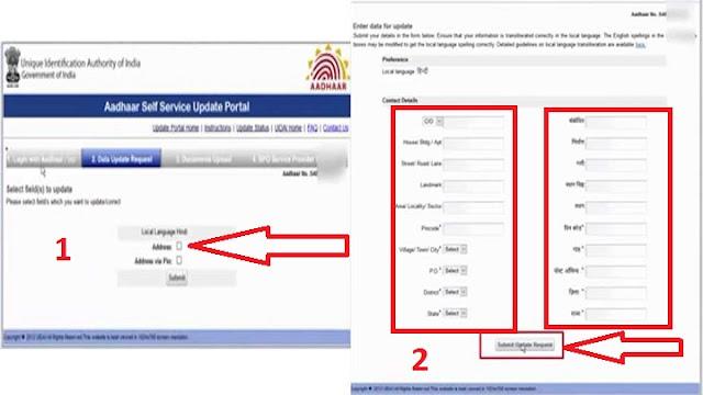 घर बैठे आधार कार्ड अपडेट कैसे करें /aadhar card online update 2018
