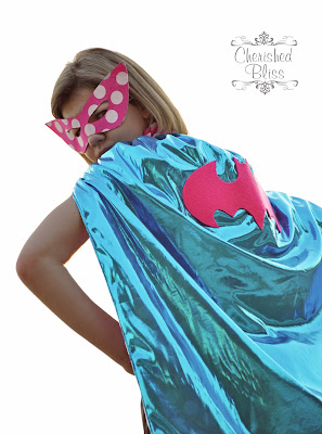 Polka Dot Superhero Costume via Cherishedbliss.com #costume