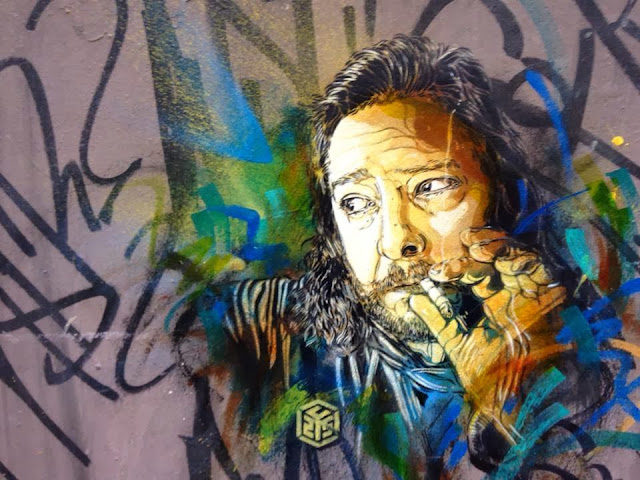 Parisian Stencil Artist C215 returns to Barcelona with a new series of Street Art Pieces. 1