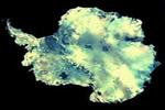 La Antártida, vista desde satélite