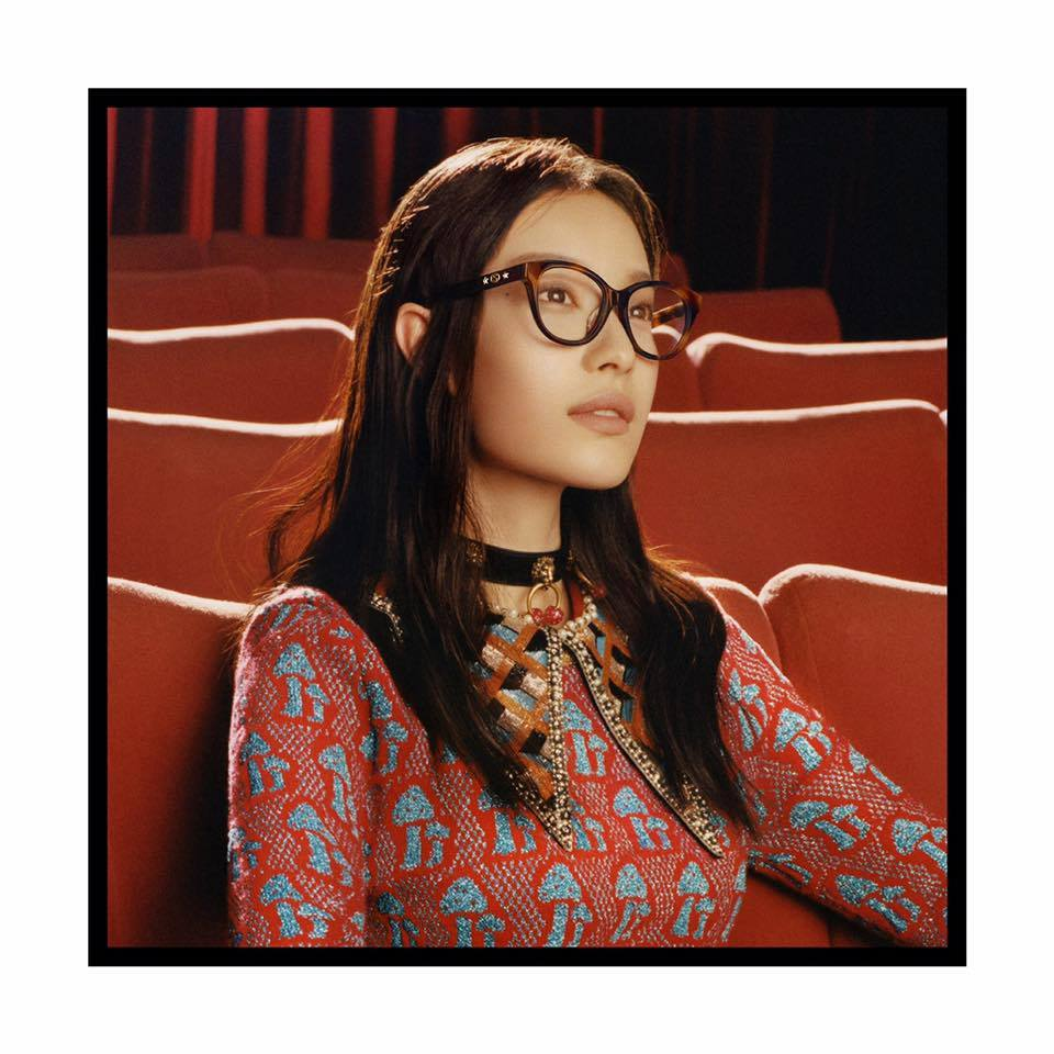 Gucci | Fall Winter 2017 Eyewear Ad Campaign by Colin Dodgson