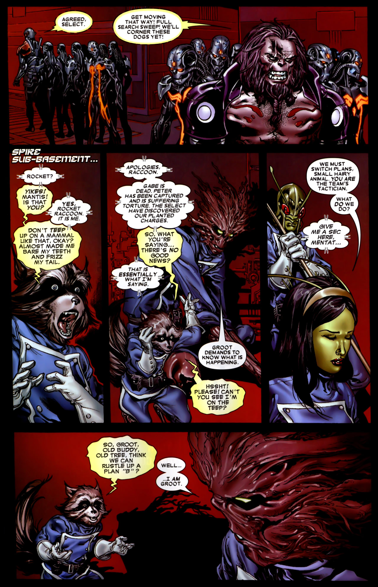 Read online Annihilation: Conquest comic -  Issue #4 - 7