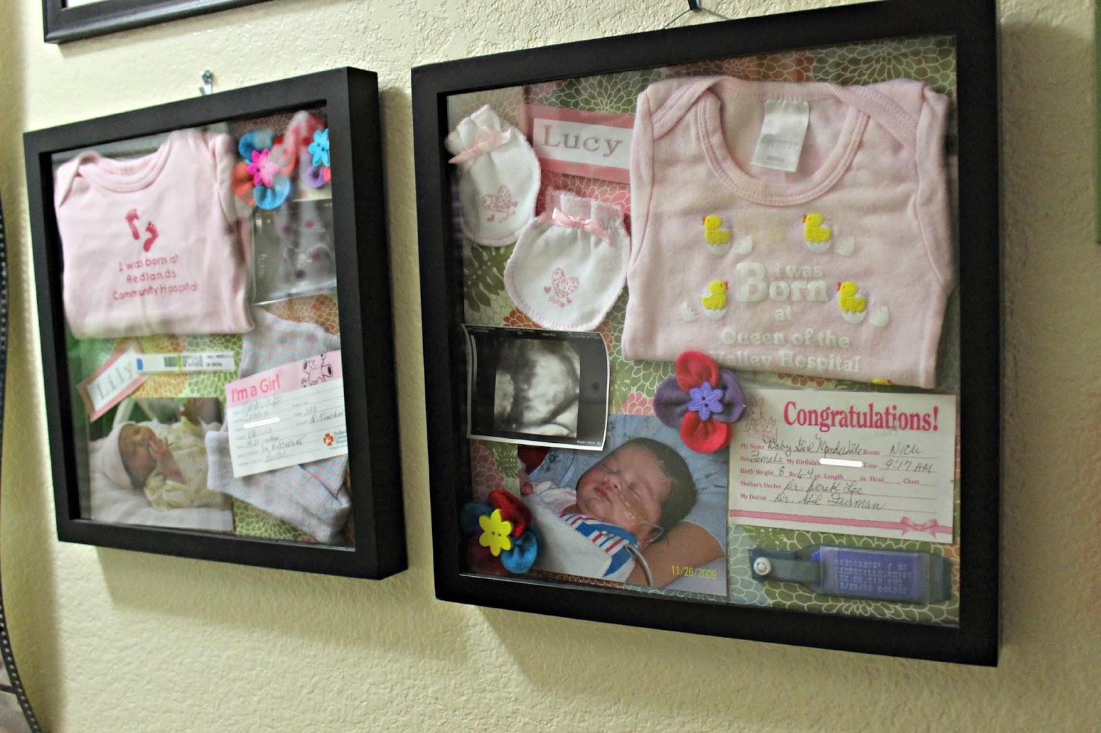 Diy Baby Memory Frame Box A Bountiful Love