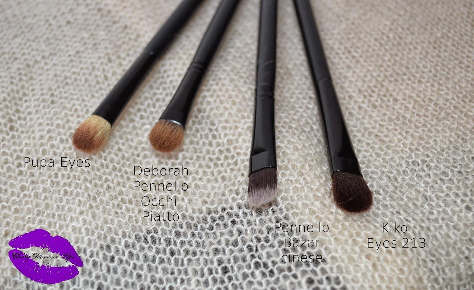 Pennelli, Brush, Revlon, Pupa, Deborah, Essence, Smoky, Hakuro, H77, H67, H74, Pulizia Pennelli, Rae Morris, Cherry Diamond Lips Make-up